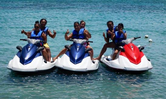 Jet Ski Historical Tour In Saint George, Saint Kitts