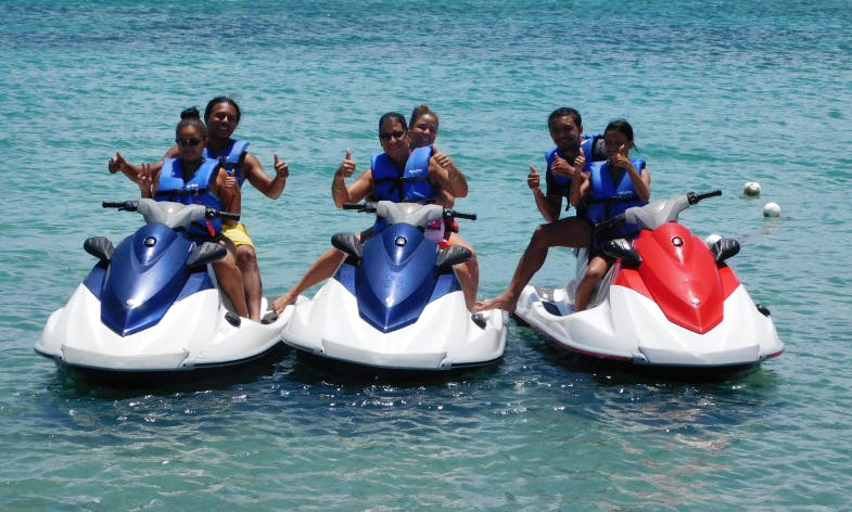 Jet Ski Historical Tour In Saint George, Saint Kitts