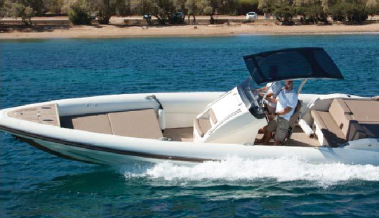 Charter 33' Technohull Rigid Inflatable Boat  In Lavrion, Greece