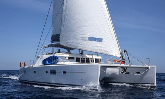 Charter 51' Lagoon Cruising Catamaran In Alimos, Greece