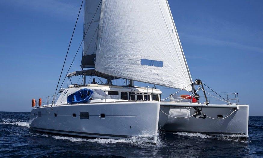 Charter 51' Lagoon Cruising Catamaran in Alimos, Greece