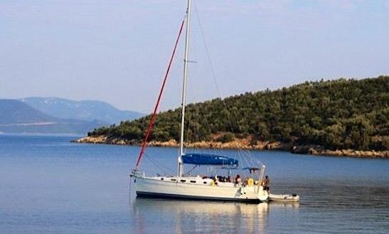 Charter Cyclades 43.3 Cruising Catamaran In Milina, Greece