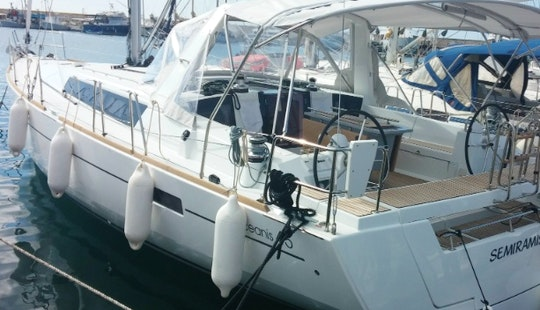 45' Oceanis Cruising Monohull For Charter In Glifada, Greece
