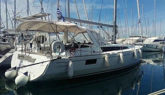 Charter 48' Oceanis Cruising Monohull In Glifada, Greece