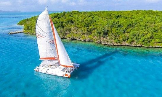 Charter 45' Voyage Dc Cruising Catamaran In Mahebourg, Mauritius