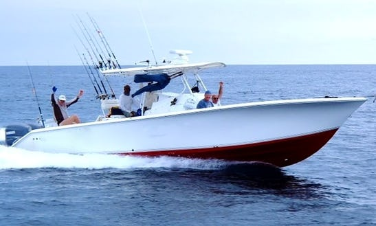 Enjoy Fishing In Chicá, Panamá On 34' Palmetto Center Console