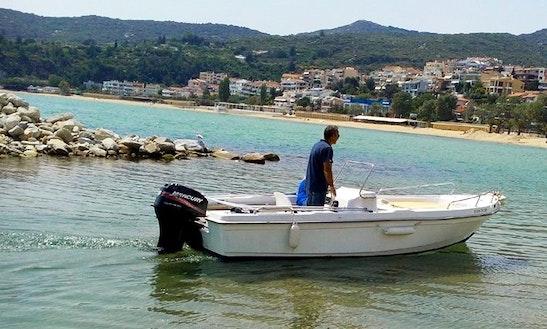 Bareboat Center Console Rental In Kavala, Greece