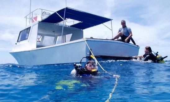 Boat Diving Trips  Padi Courses In Antigua