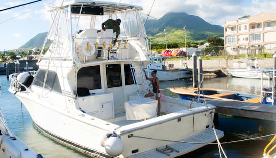Enjoy Fishing In Basseterre, Saint Kitts And Nevis On 38' De Boss Sport Fisherman