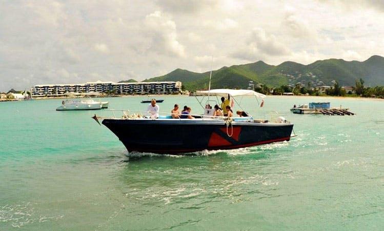 Dive Charter In St. Maarten