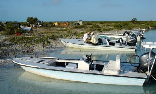 Enjoy Fishing On A Skiff In The Bahamas