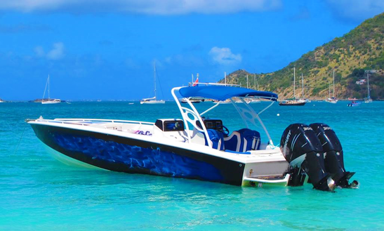 36' Jet Boat Tours In Philipsburg, Sint Maarten