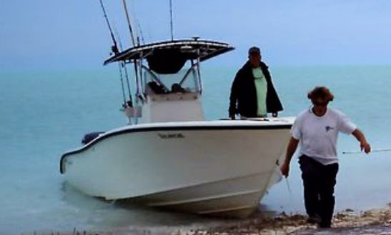 Enjoy Fishing In Andros Town, Bahamas On Center Console