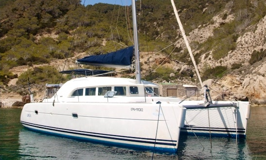 Charter 38' Lagoon Cruising Catamaran In Badalona, Spain