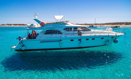 Charter 65' Princess Power Mega Yacht In Ierapetra, Greece
