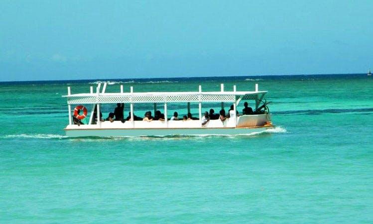 Glass Bottom Boat Tour In Buccoo
