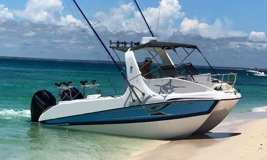 Enjoy Fishing  Excursions In Vilanculos - Bazaruto Islands, Mozambique. Deep Sea Fishing Boat.