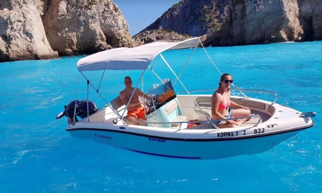 17 foot Ranieri Assure boat for rent in Planos, Greece