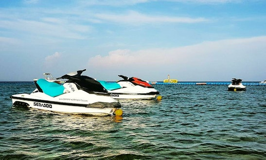 Rent A Seadoo Jet Ski In Vasilikos, Greece