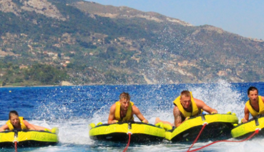 Enjoy Tubing In Vasilikos, Greece
