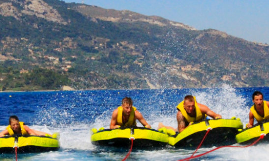 Enjoy Tubing In Vasilikos, Greece
