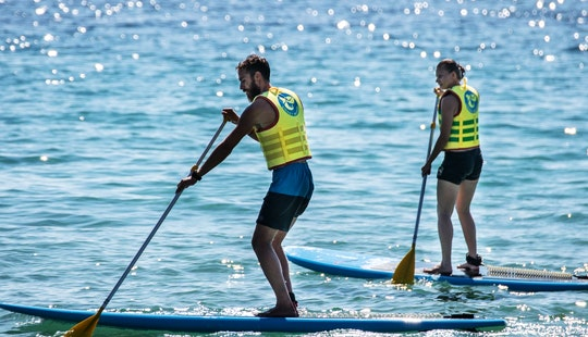 Stand Up Paddleboard Rentals In Chalkidiki, Greece