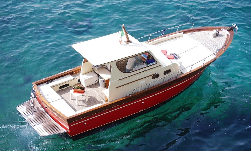"Charter 33ft ""Sealady""CabinWalk Around Boat In Positano, Italy"
