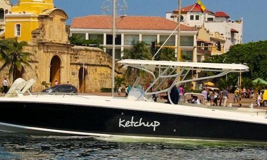 Boat Rental 42ft Capacity 22 People In Cartagena, Bolívar