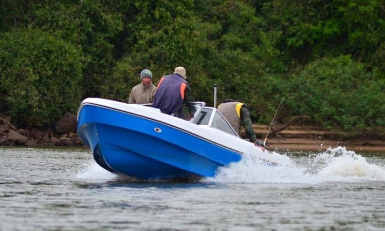 Enjoy Fishing in Corrientes, Argentina on Bowrider