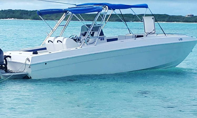 Spend a day boating in Exuma, Bahamas - Rent a Center Console