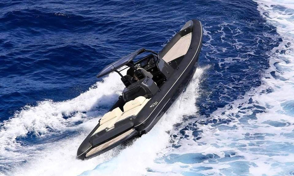 Explore the water with this luxury RIB in Thesprotia, Greece
