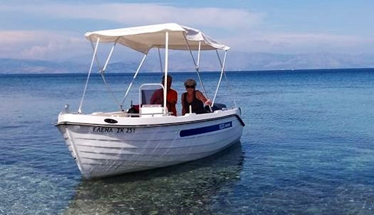 Experience Corfu With This Center Console Rental In Kerkira, Greece