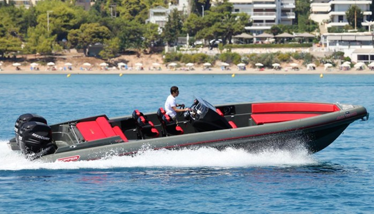 Charter 33' Rigid Inflatable Boat In Alimos, Greece