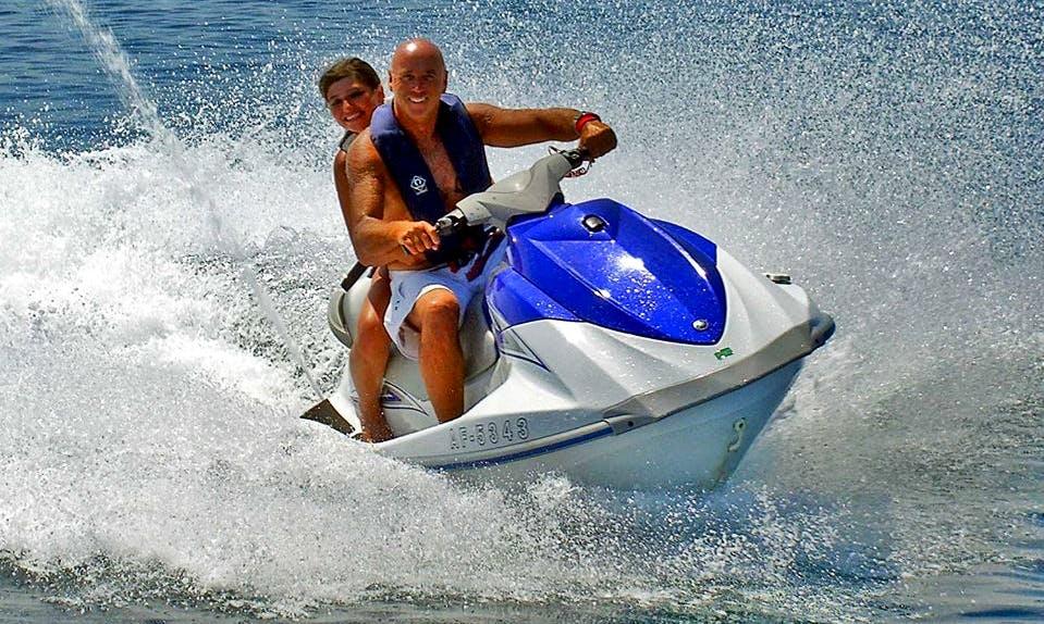 An amazing rental experience of a Jet Ski in Zakinthos, Greece
