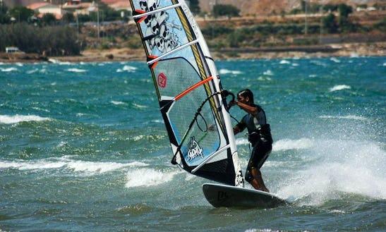 Enjoy Windsurfing In Kardamena, Greece