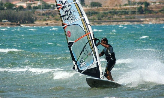 Enjoy Windsurfing In Kardamena, Greece