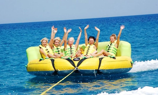 Enjoy Tubing In Kardamena, Greece
