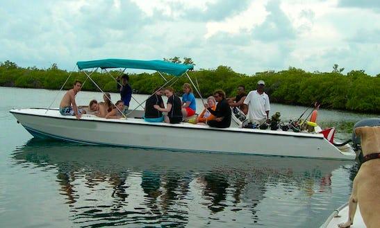 Scuba Diving Boat In Belize City