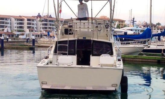 31' Fishing Charter In Puerto Vallarta