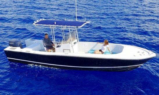 Center Console Rental In Puerto Aventuras W/captain