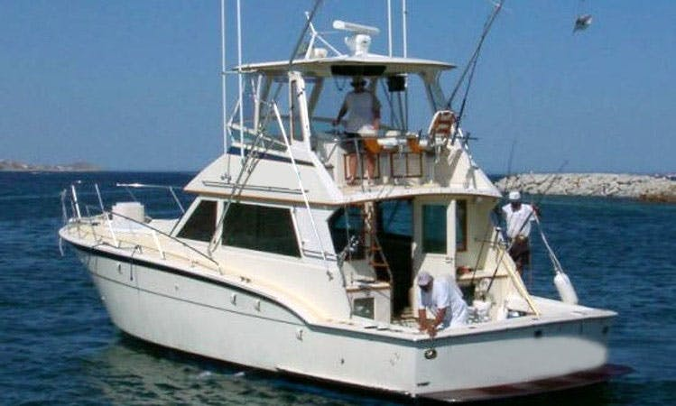 """43ft """"Fish Cabo"""" Hatteras Fishing Charter In Cabo San Lucas, Mexico"""