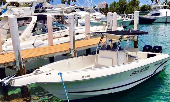 28'center Console Twin Outboard Charter  Nassau Bahamas