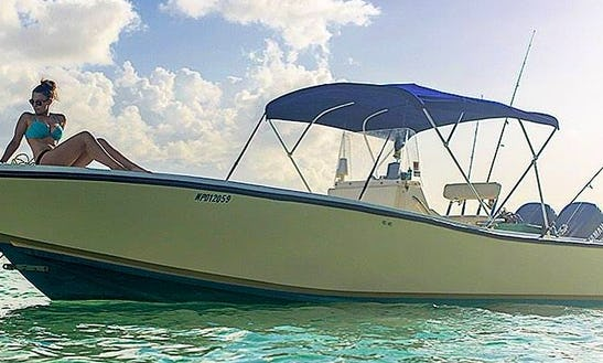 8 Person Fishing Charters In Nassau, Bahamas On Center Console