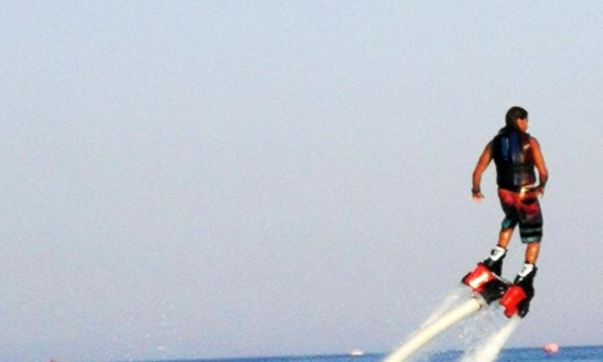 Enjoy Flyboarding In Thasos, Greece