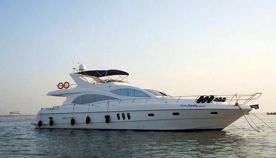 Charter Fox Lady Power Mega Yacht In Britona Bardez, Goa