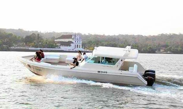 Charter a Motor Yacht in Mandovi River, Goa