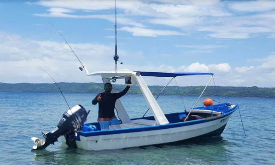 Enjoy Fishing In Liberia, Costa Rica On Dinghy
