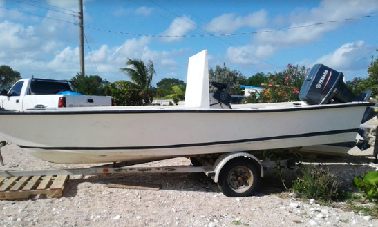 Spend Time Catching Fish In Acklins, Bahamas On Center Console