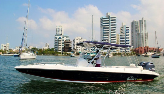 Rent This Bravo 30ft Center Console For 12 People In Cartagena, Bolívar