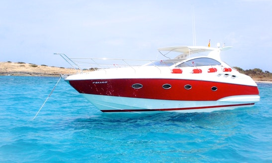 Charter 39' Astondoa Motor Yacht In Santa Eulària Des Riu, Spain